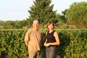 Christine cousin fourcaud et jean-paul fourcaud, sceau domaine de monteils, sauternes